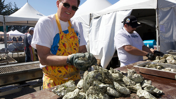 Shuking Oysters