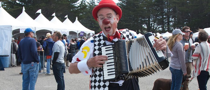 Clown Accordian