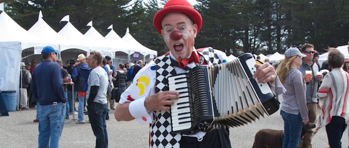 Clown Accordian