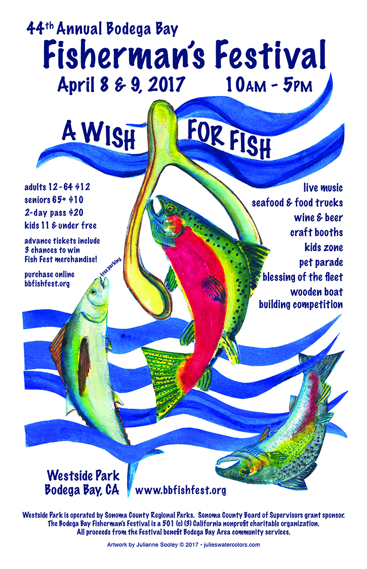 2017 Fish Fest Poster